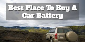 We guide you through where you can buy an automotive battery.
