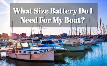 knowing your marine battery size