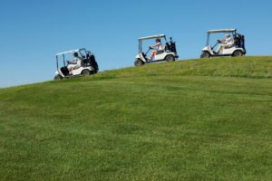 How long can we use the batteries to run our golf cart?