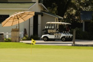 how many hours are golf cart batteries charged?