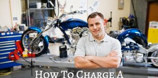 Tips for charging motorcycle batteries.