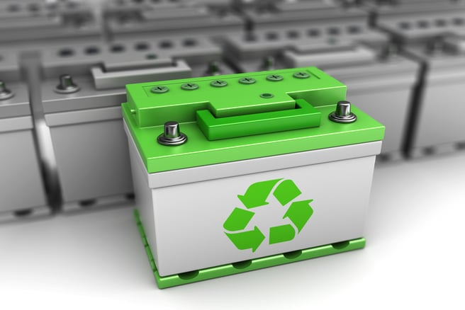 Profiting from recycled battery.
