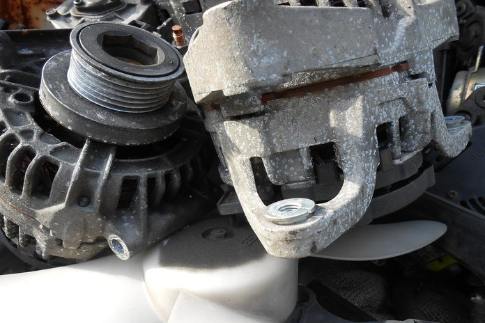 Relation between car battery and alternator.
