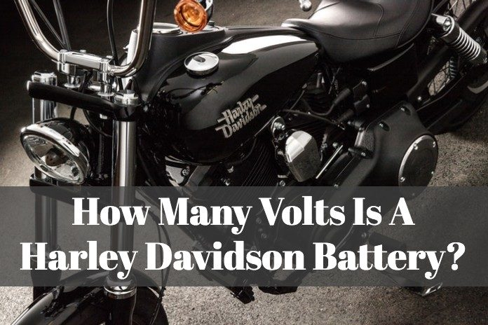 FInd out what is the voltage of a harly davidson battery to have.