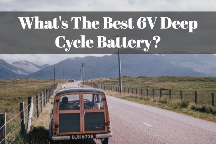 You can learn the most reliable 6V deep cycle battery that are sold on Amazon.