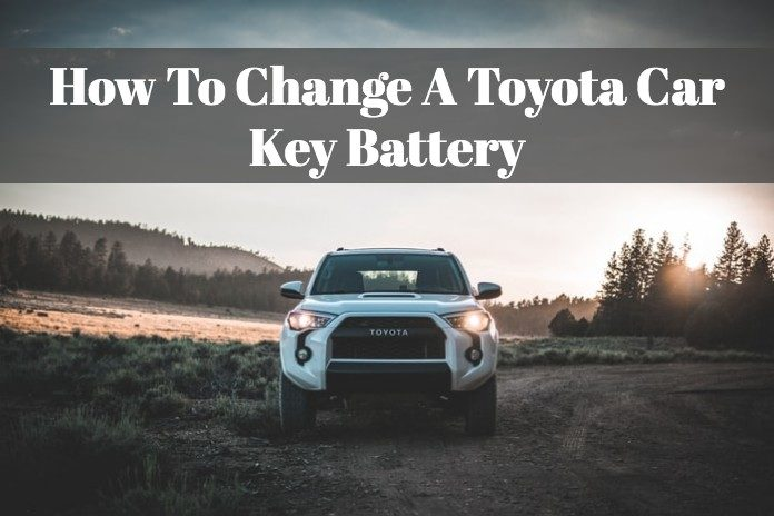 Learn the ways you can change your car key battery for your Toyota car.