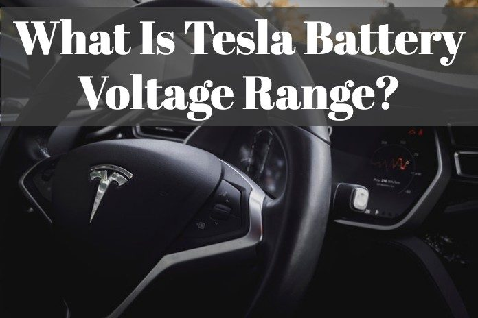 Find each Tesla products battery volt.