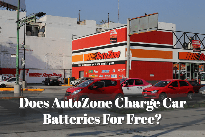 Does Autozone Charge Car Batteries For Free